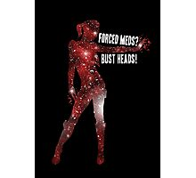Mass Effect, Jack - Forced Meds? Bust Heads! Photographic Print