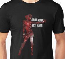 Mass Effect, Jack - Forced Meds? Bust Heads! Unisex T-Shirt