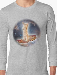 Cats in Space Long Sleeve T-Shirt