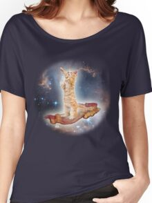 Cats in Space Women's Relaxed Fit T-Shirt