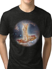 Cats in Space Tri-blend T-Shirt