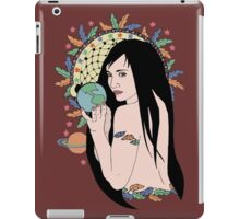 Native Gaia Connections iPad Case/Skin
