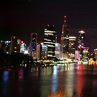 Brisbane City by Monique Keen