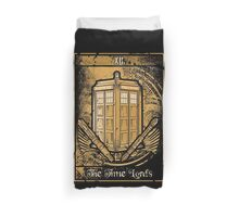 The Time Lords Duvet Cover