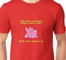 Ditto Is All Pokemon In One Unisex T-Shirt