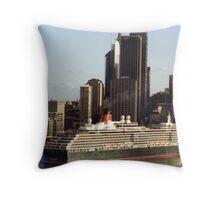 How to Dwarf Sydney Harbor Throw Pillow