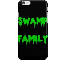 Swamp Family iPhone Case/Skin
