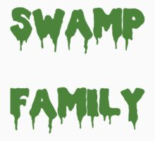 Swamp Family Kids Clothes