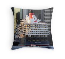 Bow to the Queen  Throw Pillow