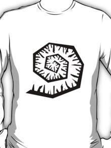 spiral_black T-Shirt