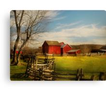 Bought The Farm Canvas Print