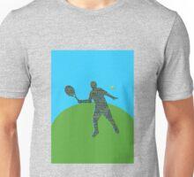 Tennis Text Unisex T-Shirt