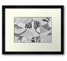 Doodles and Doodles and Doodles, Oh My! Framed Print