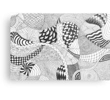Doodles and Doodles and Doodles, Oh My! Metal Print