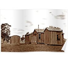 Shearers Quarters Poster
