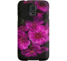 A Vivid Succulent Bouquet in Bold Pink and Fuchsia Samsung Galaxy Case/Skin