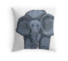 Horace Nellyphant Throw Pillow