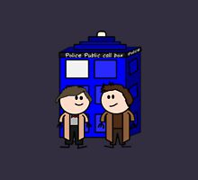 Two Doctors- Doctor Who. Unisex T-Shirt