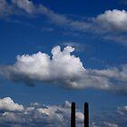 industrial sky by Giuseppe Moscarda