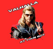 Thor - Valhalla at your boy by dgbrodie