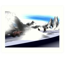 Artic Interlopers Art Print
