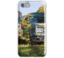 the old buses iPhone Case/Skin