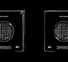 Kraftwerk - Radioactivity Mug by innerspaceboy
