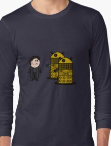 Jack Harkness and the Daleks Long Sleeve T-Shirt