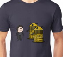 Jack Harkness and the Daleks Unisex T-Shirt