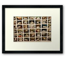 Hotel, Motel, Holiday Inn  Framed Print