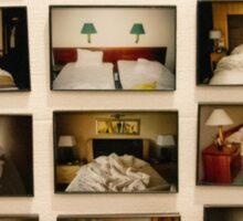 Hotel, Motel, Holiday Inn  Sticker