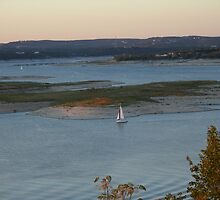Sailing in the Late Afternoon by Cathy Jones