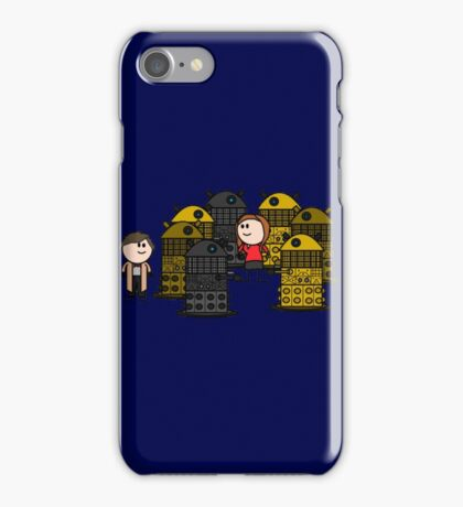 Doctor to the rescue. iPhone Case/Skin