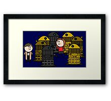 Doctor to the rescue. Framed Print