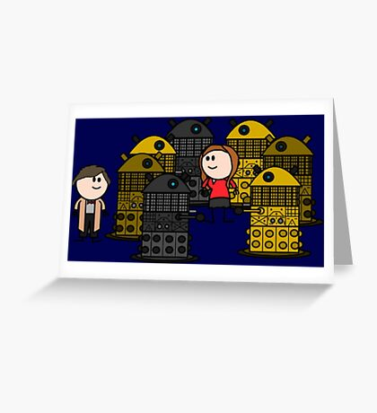 Doctor to the rescue. Greeting Card