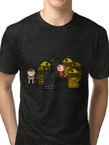 Doctor to the rescue. Tri-blend T-Shirt