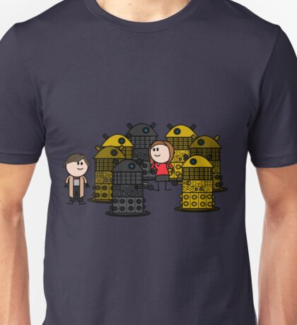 Doctor to the rescue. Unisex T-Shirt