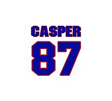 National football player Dave Casper jersey 87 Photographic Print