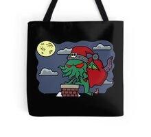 Cthulu Claus Tote Bag