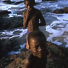 beach boys Ghana by Angus Beare