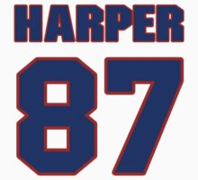 National football player Justin Harper jersey 87 by imsport