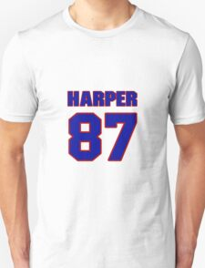 National football player Justin Harper jersey 87 T-Shirt