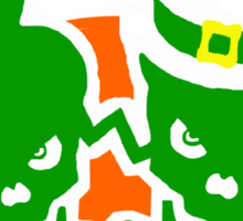 St. Patrick's day t-shirts Sticker