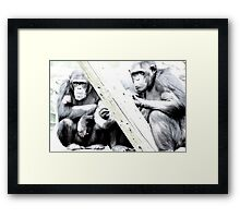 What now?  Framed Print
