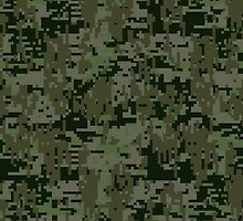 Deep Woods Digital Camo by Garaga