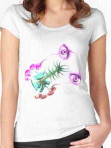 MvS-hear see Listen Women's Fitted Scoop T-Shirt