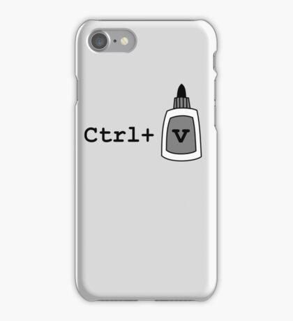 Ctrl+V Paste iPhone Case/Skin