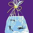 fishy business (purple) by mtths