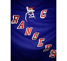 New York Rangers  Photographic Print