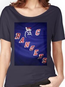 New York Rangers  Women's Relaxed Fit T-Shirt
